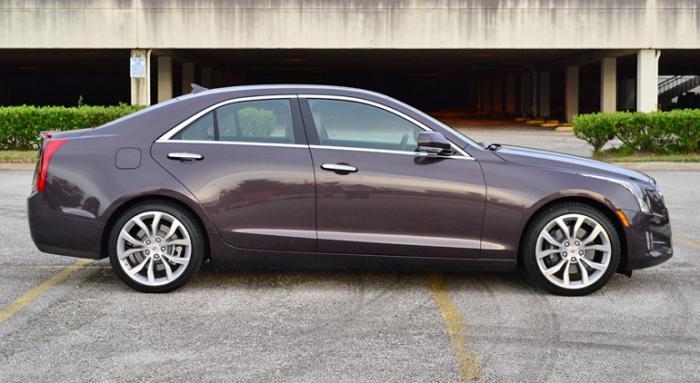 Cadillac ATS - третья модель новой технической концепции General Motors