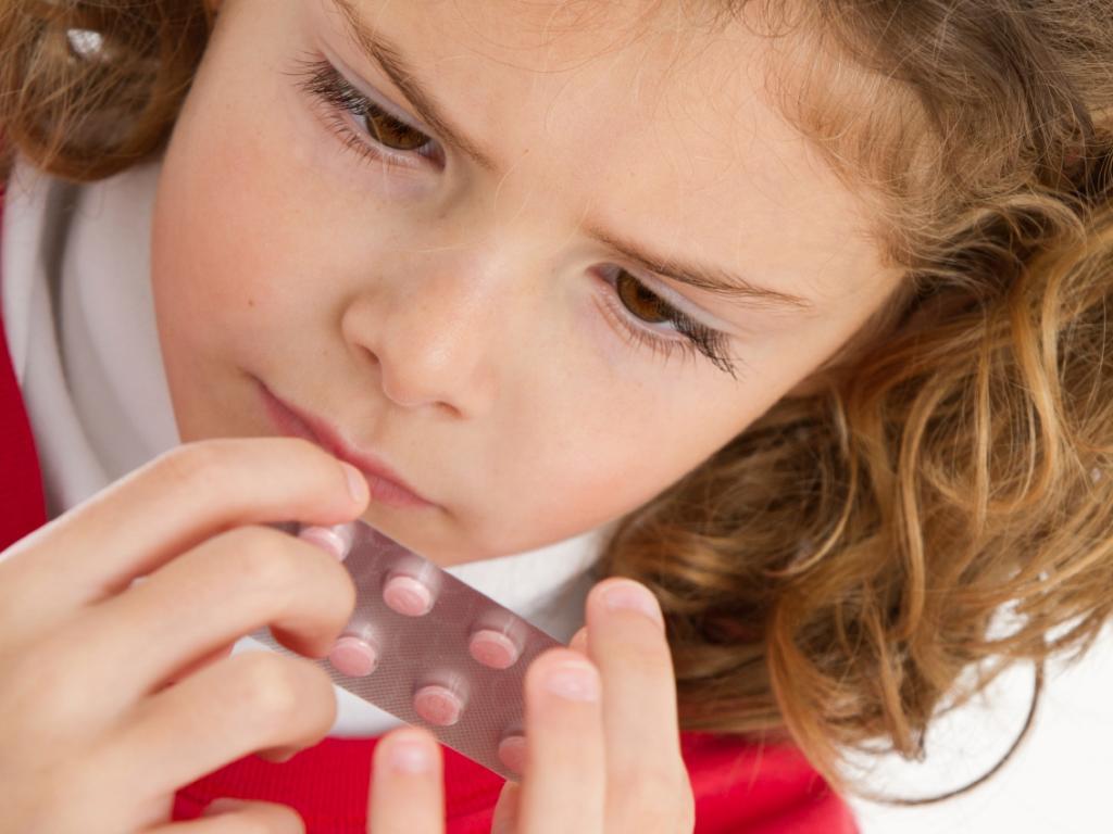 пилюли для детей