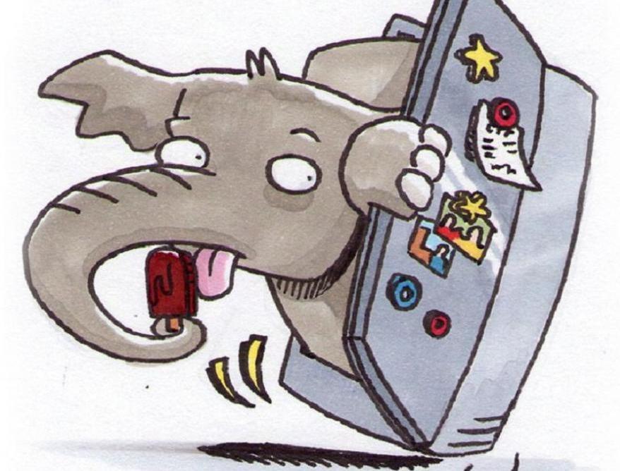 Слон в холодильнике