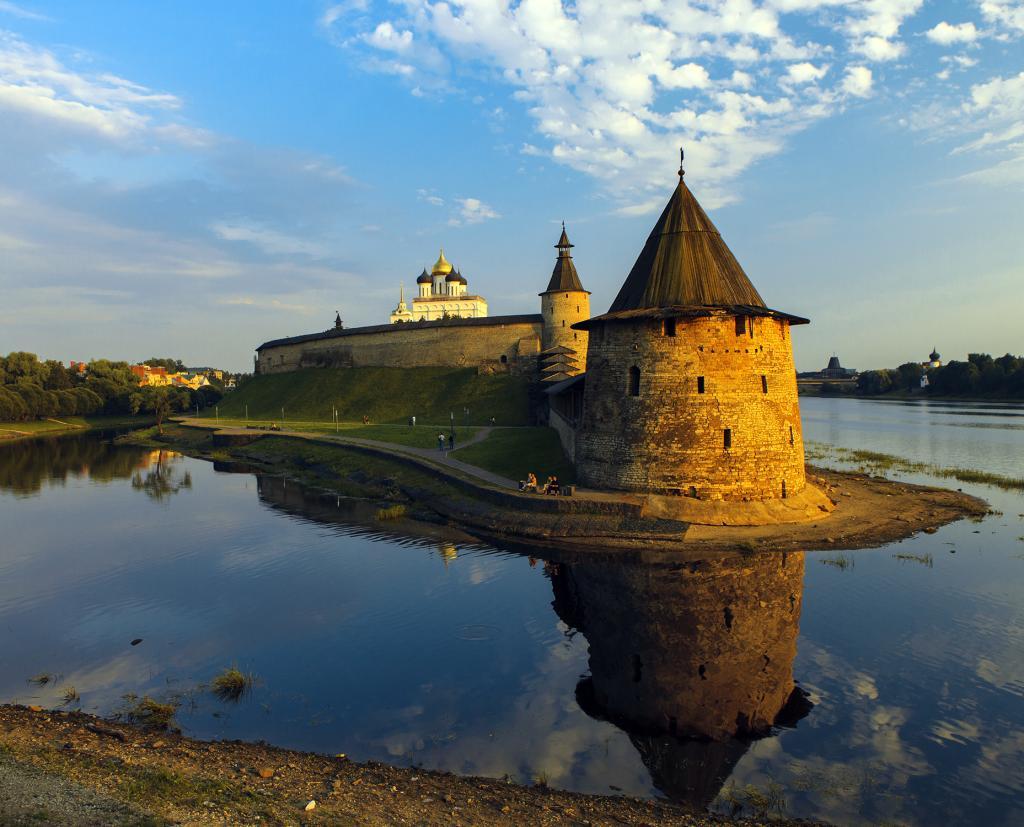 Москва - Псков: расстояние между городами и варианты поездки
