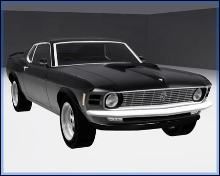 Редчайшая модель — Форд Mustang