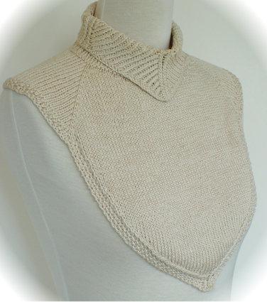 Вязание манишек шарф