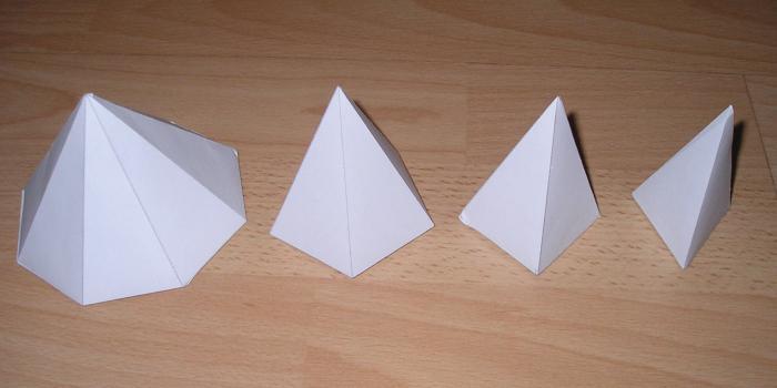 Пирамида развертка