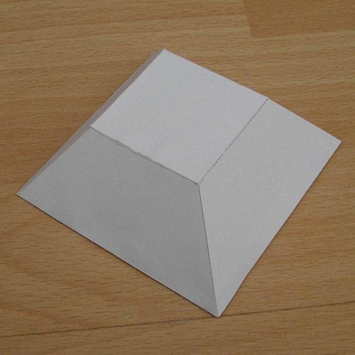 развертки из бумаги