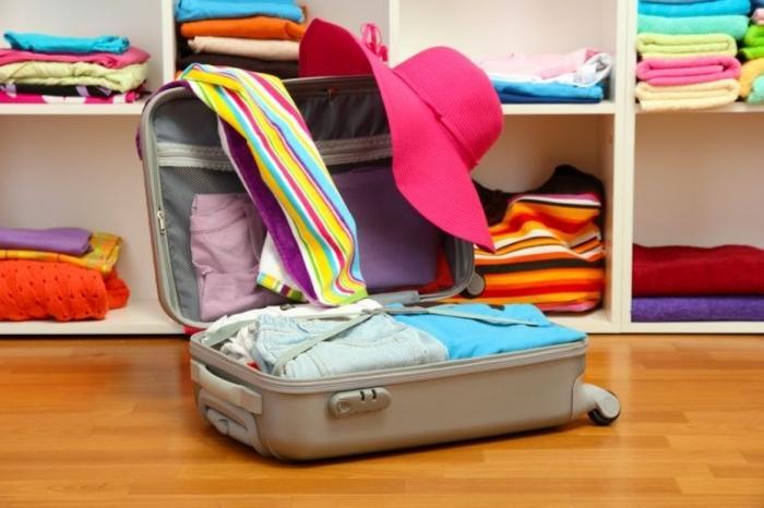 Как собрать вещи в чемодан