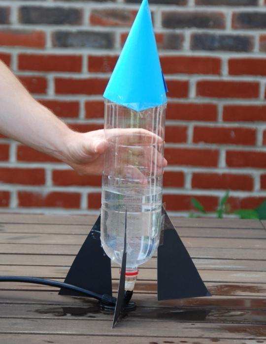 Видео как сделать ракету
