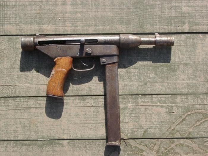 Самодельный пистолет как