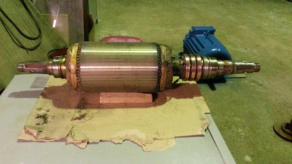 Фазный ротор - фото
