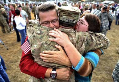Как встретить парня из армии, чтобы восторгу не было предела?