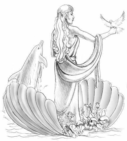 Афродита картинки рисунки