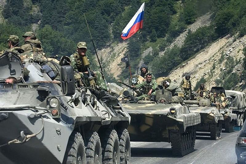 Российские войска в Грузии
