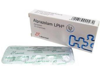 """Транквилизирующий препарат """"Алпразолам"""": инструкция по применению"""