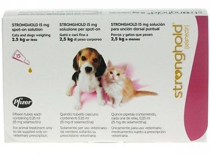 капли стронгхолд для собак