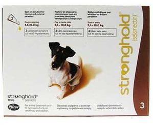 стронгхолд для собак от клещей