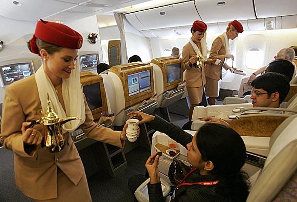 Первый раз в первый класс Emirates Cariverga
