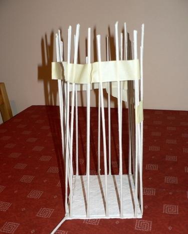 плетение из газетных трубоче