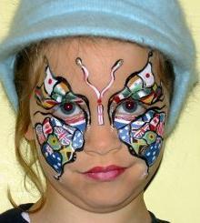 Рисунки на лицах шрамы