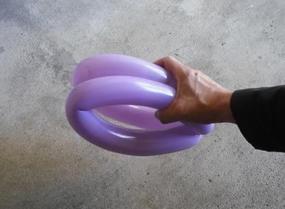 как делать цветы из шариков