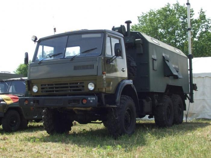 КамАЗ-4310 — автомобиль с военной выправкой