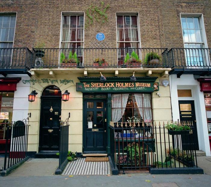 где находится музей Шерлока Холмса