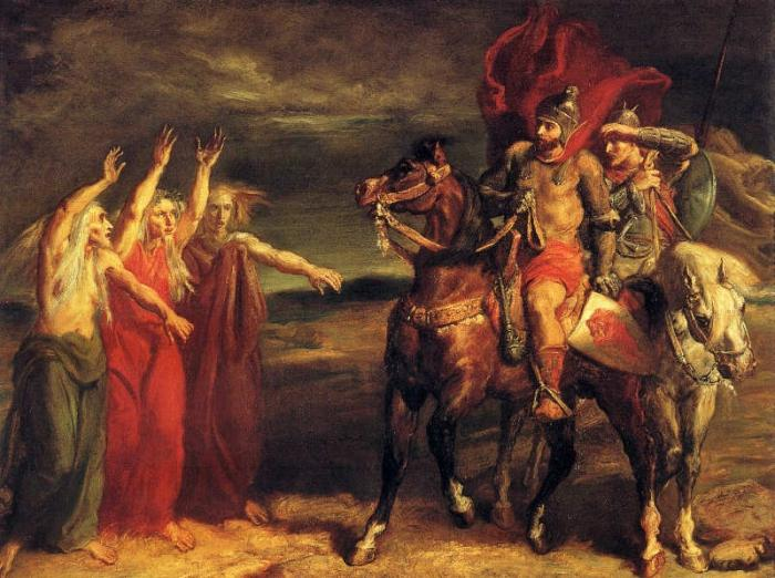 an analysis of the blood imagery in william shakespeares macbeth