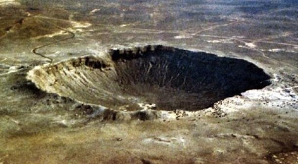 большой метеорит