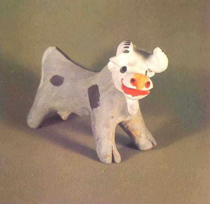 каргопольская глиняная игрушка