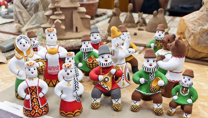 мастера каргопольской игрушки