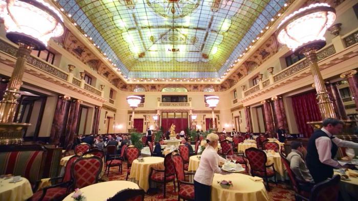 ресторан гостиницы метрополь