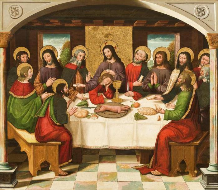 Картинки тайная вечеря
