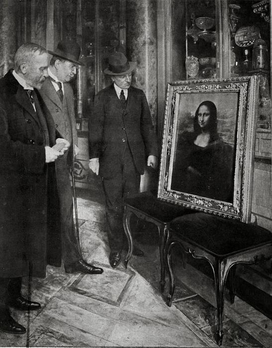 история картины мона лиза
