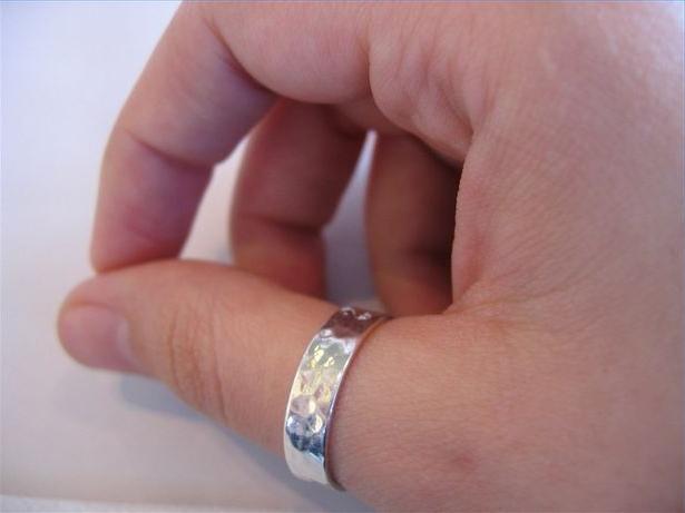 Кольцо на большой палец своими руками