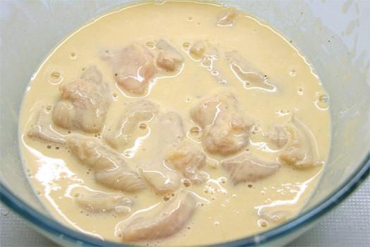кляр для курицы рецепт простой