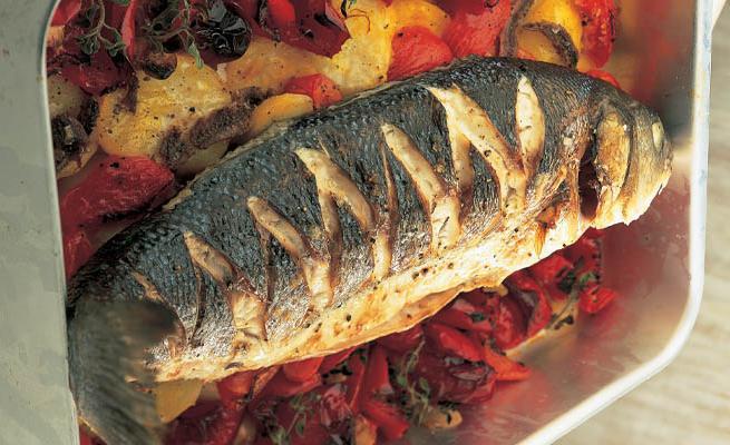 Рецепт приготовления сибаса в духовке 153