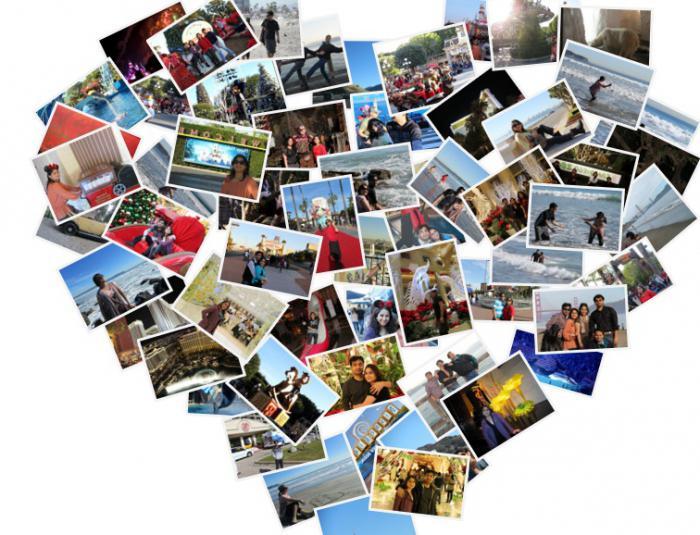 Летом, создать коллаж открытку онлайн