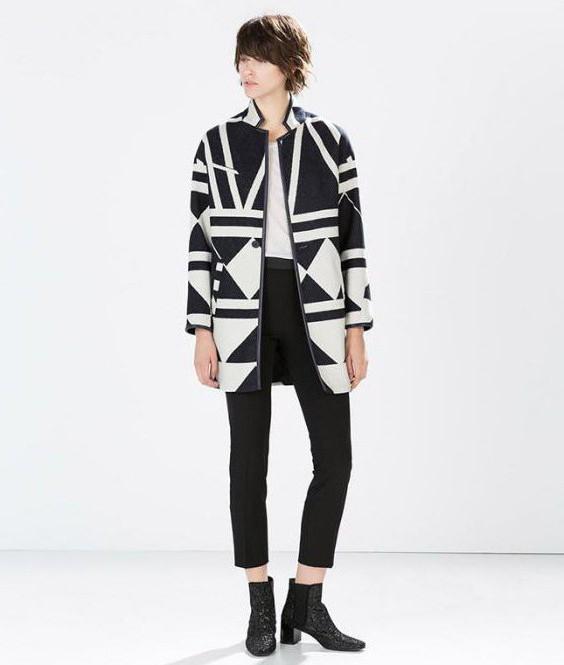 пальто с цельнокроеным рукавом фото
