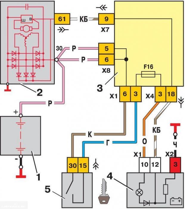схема проводки ваз 2114 инжектор 8 клапанов
