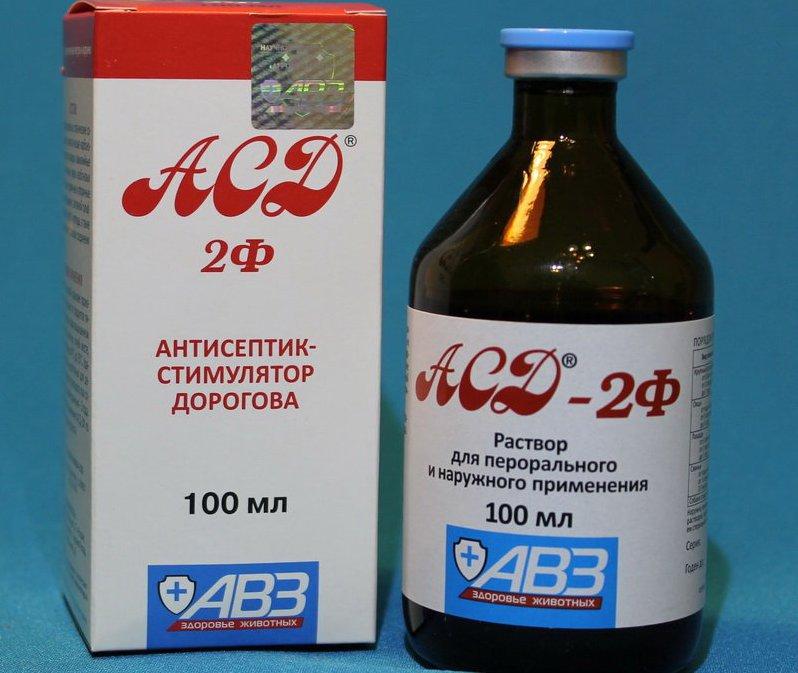 Схема как лечить молочницу фракцией Дорогова АСД 2