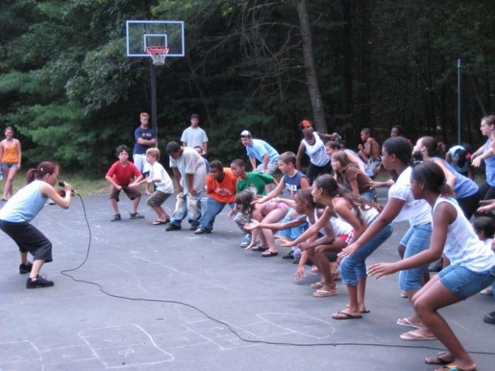 игра в лагере игра с залом на знакомство
