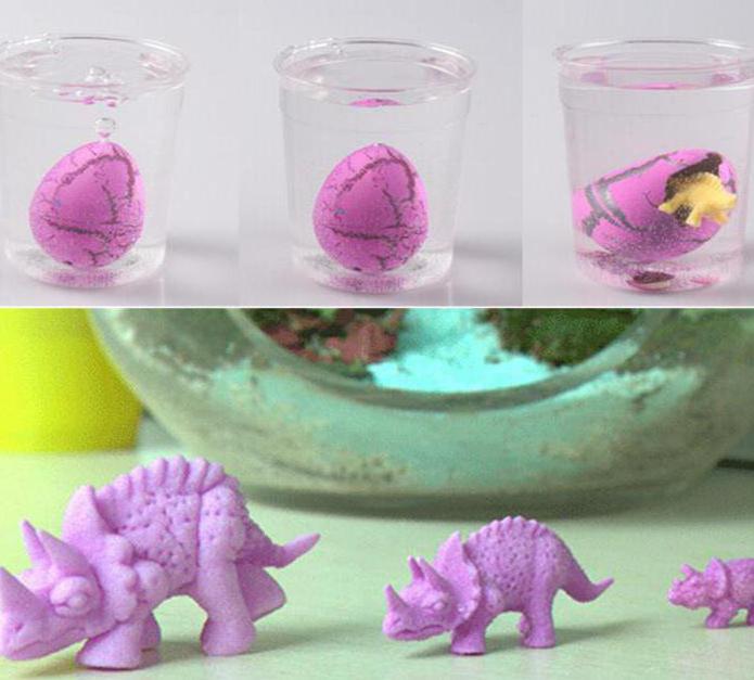 растущие игрушки в воде инструкция