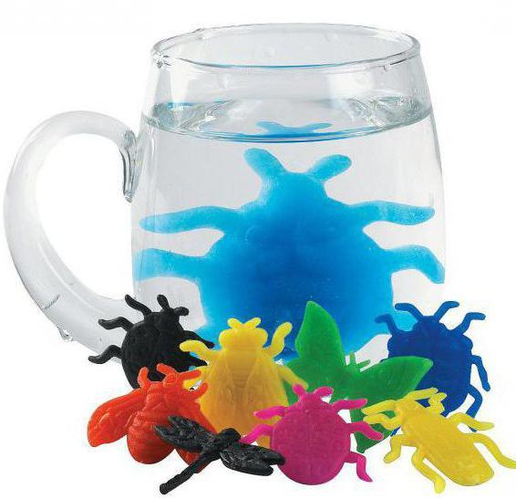 игрушки растущие в воде
