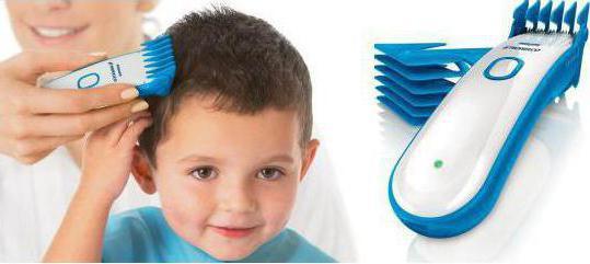 детская машинка для стрижки волос