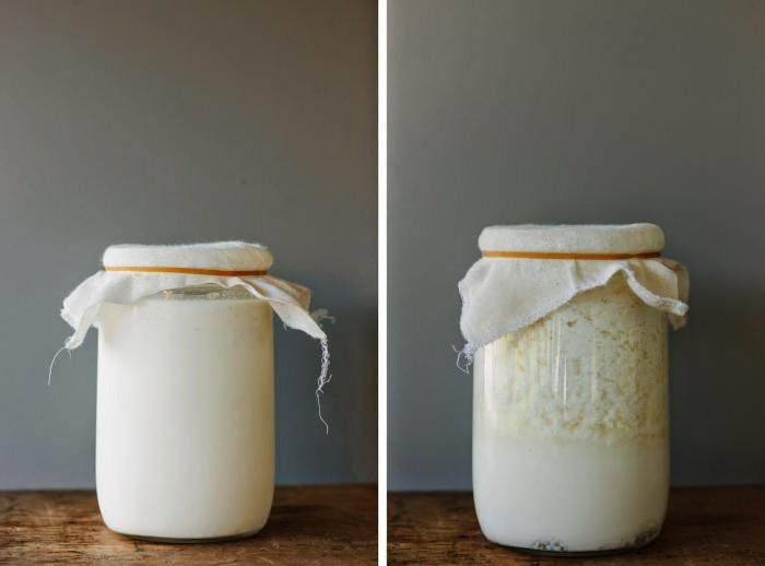 Кефир обезжиренного молока