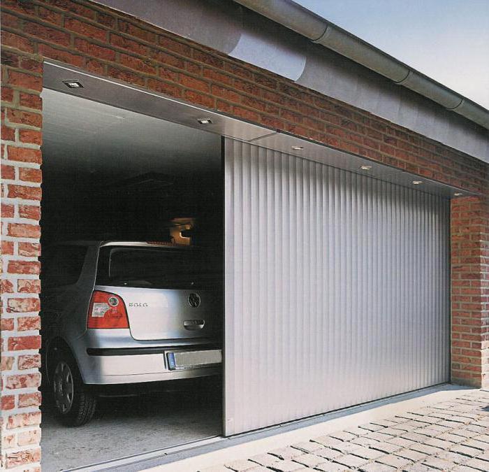 секционные ворота в гараж размеры