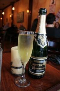 шампанское советское