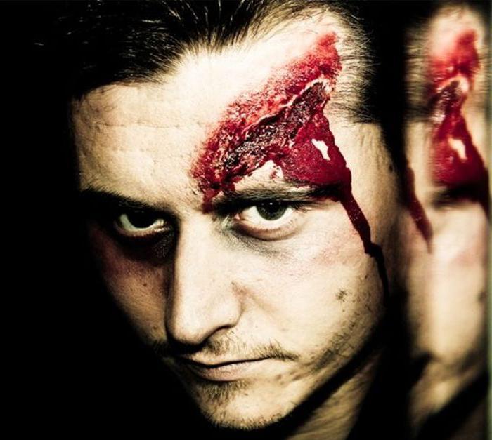 как сделать искусственную рану на хэллоуин