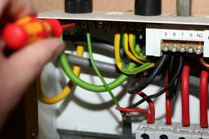 Электропроводка под старину