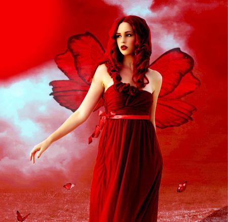 Сонник красное платье с цветами