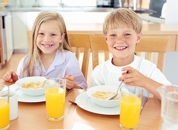 завтрак для ребёнка – залог не только здоровья, но и хорошей успеваемости