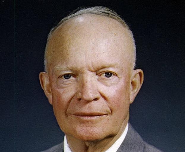 an analysis of the personal background rise to power and contributions of dwight david eisenhower a